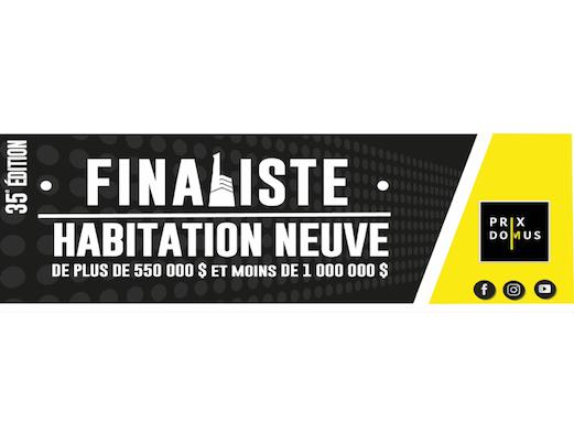 finaliste habitation neuve