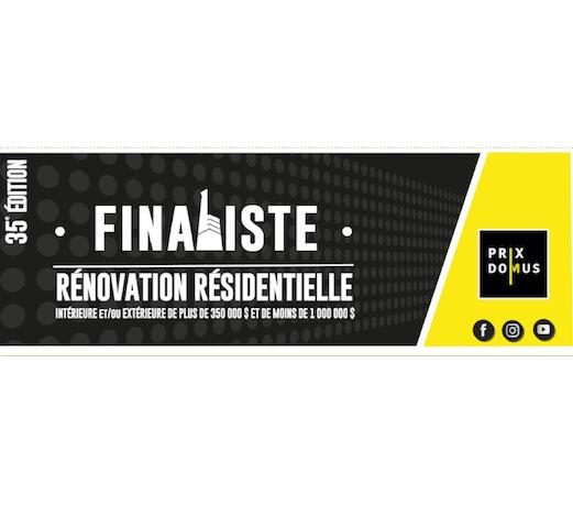 finaliste rénovation résidentielle