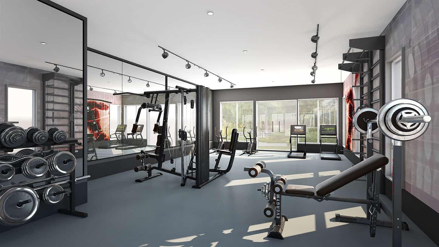Pentian-Quartier-One-West-Gym-Render